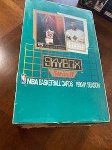 NEW SEALED 1990-91 Skybox Series 2 Basketball Sealed Wax Box | 36 Packs possible JORDAN - Miller - Pippen - Barkley