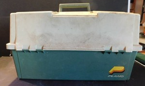 Fishing Tackle Box with Lures, etc.