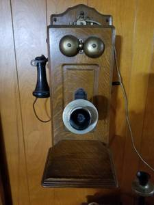 Vintage Telephone. Swedish American