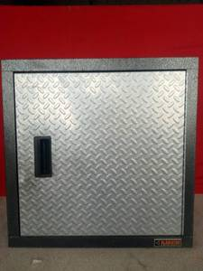 Gladiator Steel Cabinet w/ Diamond Plate Door