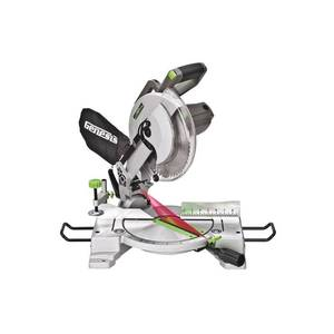 Genesis GMS1015LC 15-Amp 10-Inch Compound Miter Saw, Grey
