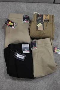 Lot of 4 New w. Tags Big & Tall Mens Clothes Roundtree & York Dress & Cargo Shorts Size 52 - WILL SHIP