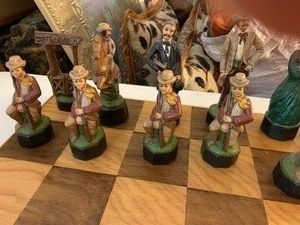 Chess Set Cowboys and Indians