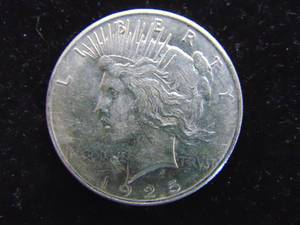 1925 Peace Dollar - Ungraded - Circulated