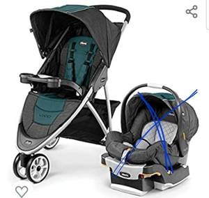 Chicco Mini Bravo Plus Stroller Only