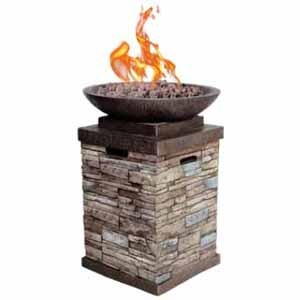 Newcastle 20 lb. Gas Firebowl