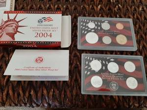 2004 United States Mint Silver Proof Set