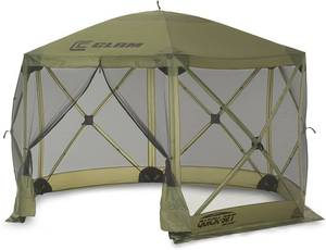 Quick Set 9281 Escape Shelter Popup Tent, 12 x 12, Green MSRP $239.99