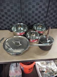 All Clad Pot and Pan Set