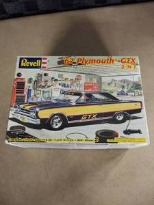 Revell 1967 Plymouth GTX Model Car