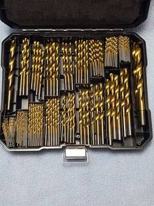 230 pc.Titanium drill bit set