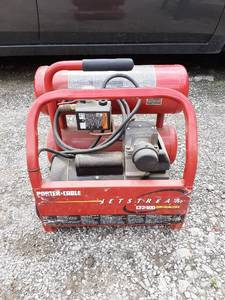 Porter Cable Jetstream Air Compressor