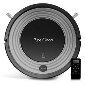 Pure Clean PUCRC96B - Smart Robot Vacuum - Automatic Floor Cleaner with Mop Sweep Dust & Vacuum Ability
