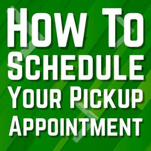 How to schedule your REQUIRED load out time!