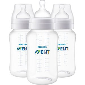 Philips Avent Anti-colic Bottle - Clear - 11oz/3pk