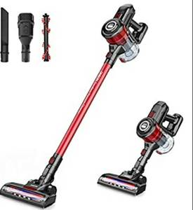 ONSON Cordless Vacuum Cleaner,12Kpa Handheld Stick Vacuum Cleaner, Powerful Cleaning Lightweight 2 in 1 Cordless Vacume Cleaners with Lithium Ion Battery for Floor Carpet,Pet Hair,Home,Car,Upholstery No Charger