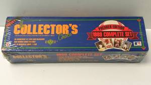 "Upper Deck ""The Collector's Choice"" 1989 Complete Set Premier Edition ~ Factory Sealed"