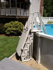 Blue Wave NE115T Neptune A-Frame Entry System for Above Ground Pool