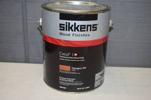 Gallon Sikkens Cetol I RE Transluscent Satin Wood Finish Mahogany