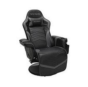 Racing Style Gaming Recliner Chair Gray - RESPAWN