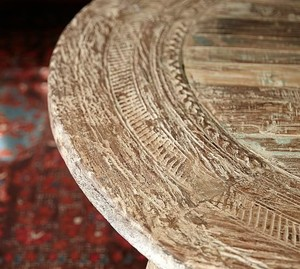 Bullock Reclaimed Wagon Wheel Coffee Table