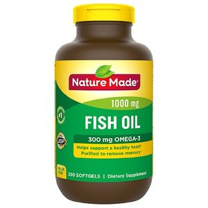 Nature Made Fish Oil 1000 mg Softgels - 250ct