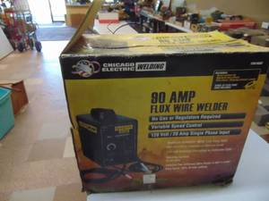 90 Amp Flux Wire Welder - NIP