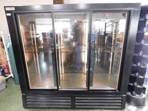 Bush Refrigeration 3 Door Glass Door Cooler