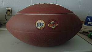 Lite Football cooler