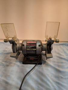 Craftsman 5-in bench grinder