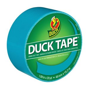 Duck Tape Brand 1.88 in. x 20 yd. Aqua Color Duct Tape