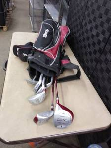 Cougar Golf Clubs and Bag