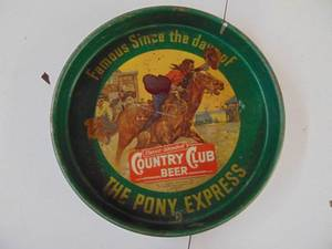 Country Club Beer Tray