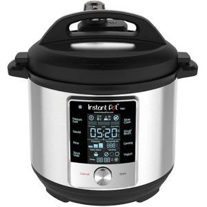 Instant Pot - Max 6-Quart Programmable Pressure Cooker - Stainless Steel/Silver