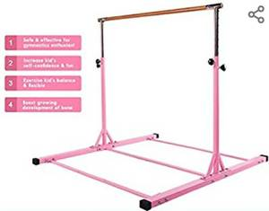 Dai&F Horizontal Gymnastics Bar for Kids