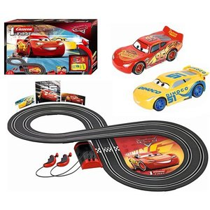 Carrera First Disney/Pixar Cars 3 - Slot Car Race Track