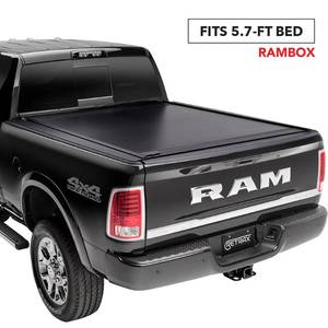 "RetraxONE MX Retractable Truck Bed Tonneau Cover | 60243 | Fits 2019-2020 New Body Style Dodge RAM 1500 - Does Not Fit With Multi-Function (Split) Tailgate 5' 7"" Bed"