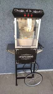 Great Northern Popcorn Company Popcorn Machine on Cart Model 6096