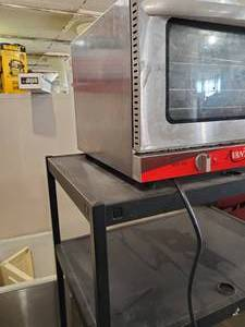 Avantco 1/2 Size Convection Oven and Cart