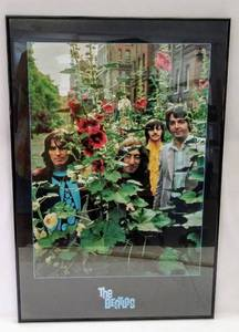 "Beatles Framed Poster ~ The Infamous ""Mad Day Out"" photo shoot on July 28th 1968 (Shot by Don McCullin)"