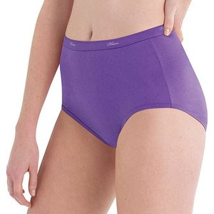 Hanes Women's 10pk Cotton Classic Briefs - Colors Vary 8, MultiColored
