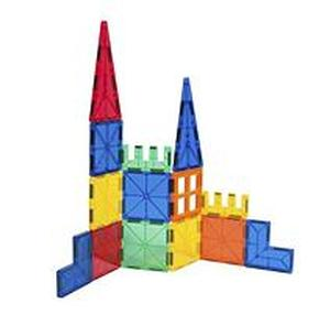 Tytan Magnetic Learning Tiles Building Set with 100 pieces, NEW - FREE SHIPPING