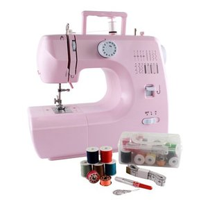 Michley Inspiration 700p 16-Stitch Sewing Machine (Barely Pink) with Sewing Kit