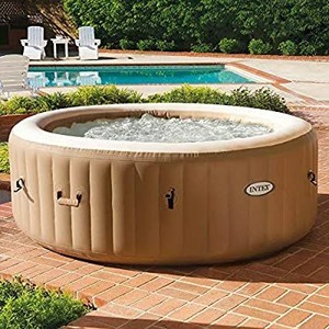 Intex Purespa Inflatable Bubble Massage Tub And Pool