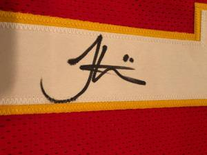 Signed Tyreek Hill Kansas City Chiefs #10 Custom Jersey With James Spence Authentication WITNESSED