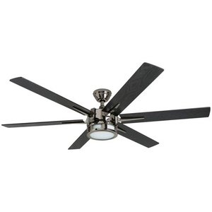 Honeywell Kaliza 56-Inch Gun Metal Indoor LED Ceiling Fan with Remote