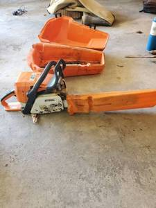 STIHL Chainsaw with Case. Untested