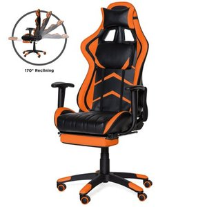 Best Choice Products Ergonomic High Back Executive Gaming Chair, Orange