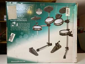 Simmons SD350 Compact 5-piece Drum Kit