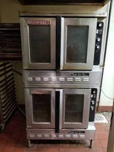 Blodgett Natural Gas Oven Flow Commercial Double Oven Buyer Must Remove